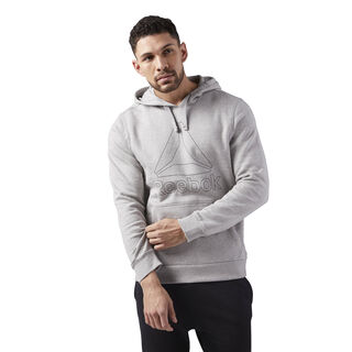 Elements Big Logo Hoodie Medium Grey Heather CE4746