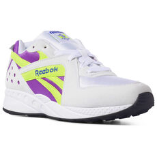 37e7a331203 Reebok - Pyro White Vicious Violet Neon Yellow Crushed Cobalt Black DV4847