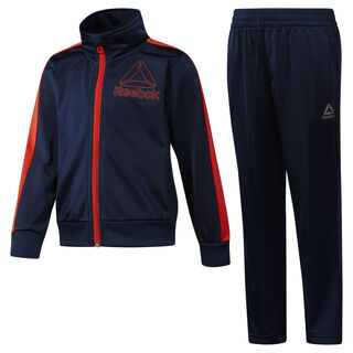 Boys' Workout Ready Tricot Tracksuit Collegiate Navy DH4328