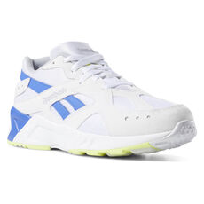 340dea4ae9727b Reebok - Aztrek White   Cold Grey   Crushed Cobalt   Neon Lime DV3900