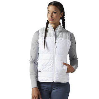 Outdoor Padded Vest White / Skull Grey CF9317