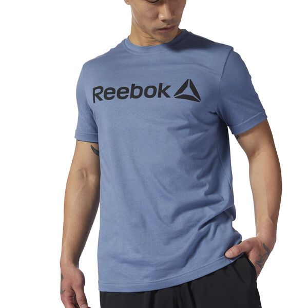 Reebok Linear Read Tee Blue DH3785