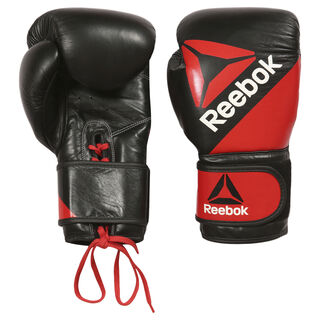 Leather Training Glove 16oz Multicolor/Reebok Red/Black BG9380