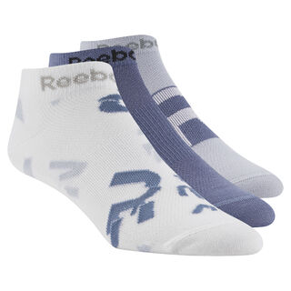 Women's Running 3-Pack Sock White / Blue Slate / Cloud Grey D68169