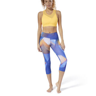 Yoga Lux Bold 3/4 Tights Crushed Cobalt DU4479