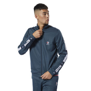 Classics Taped Track Top Blue Hills DT8149