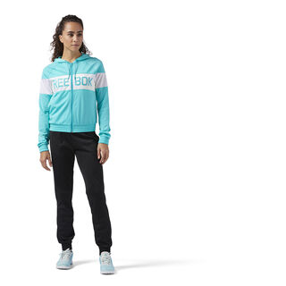 Elements Tricot Tracksuit Solid Teal/Black CD7040