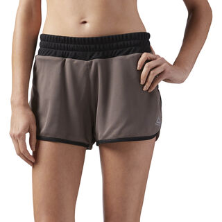 Sustainable Mesh Shorts Brown CE4551