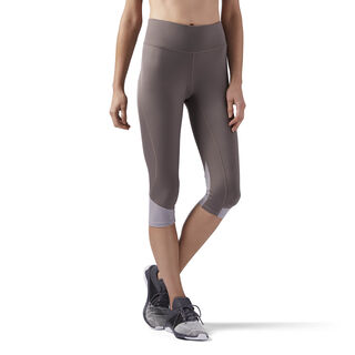 Sustainable Running Capris Brown/Smoky Taupe CE4550