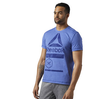 Speedwick Graphic Tee Deep Cobalt BR9703