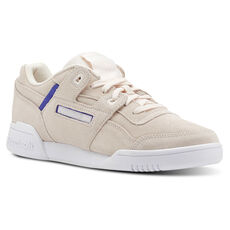 e79a81f4f40 Reebok - Workout Lo Plus Subtle Pop-Pale Pink   Ultima Purple   White CN5524